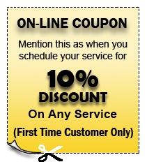 On Line Service Coupon