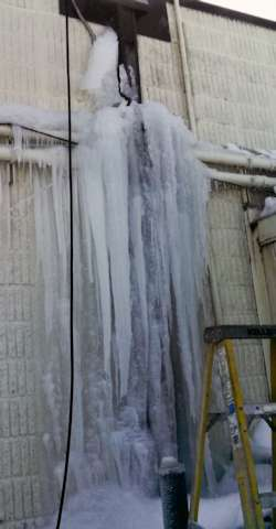 Ice dams in Minnesota