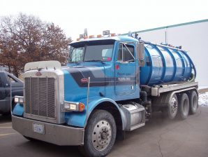 Drain King Inc Water Jetting Truck